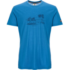 super.natural Graphic - T-shirt manches courtes Homme - bleu